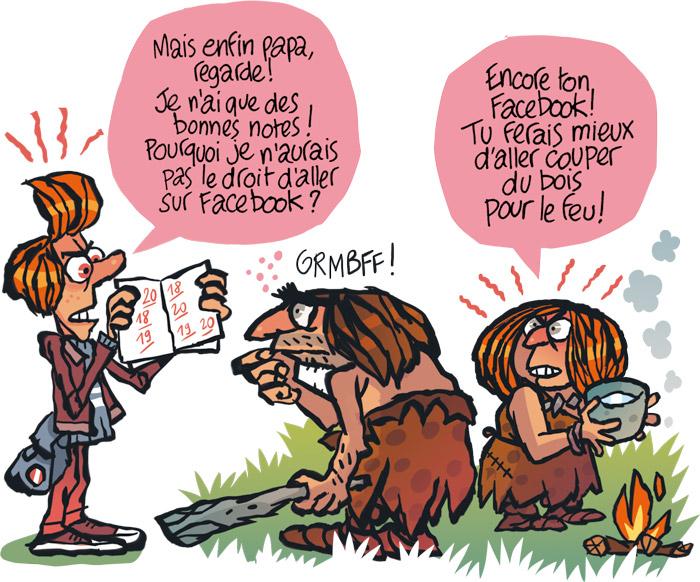 Jurassic Facebook