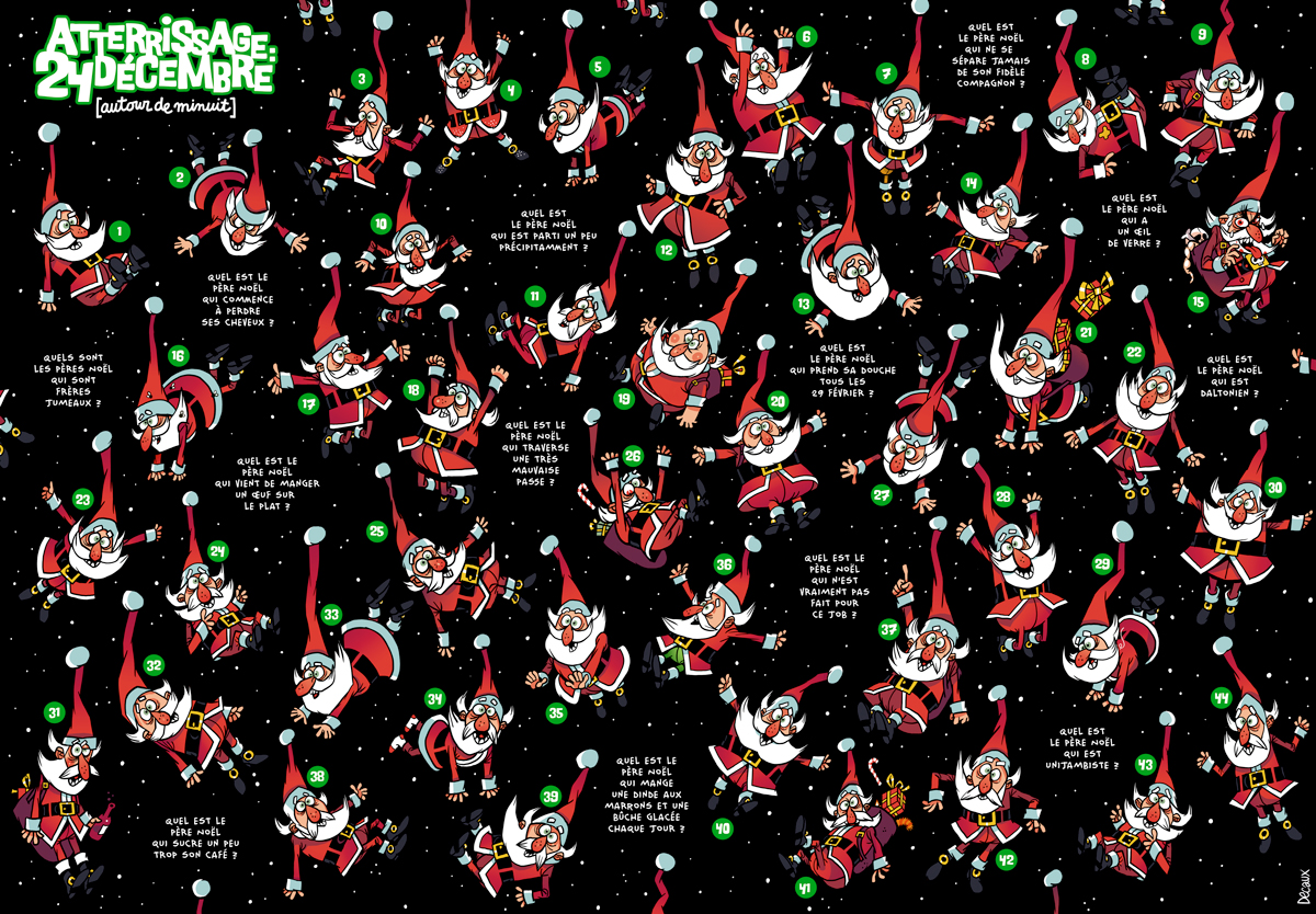 Jeu pour Spirou spécial Noël !