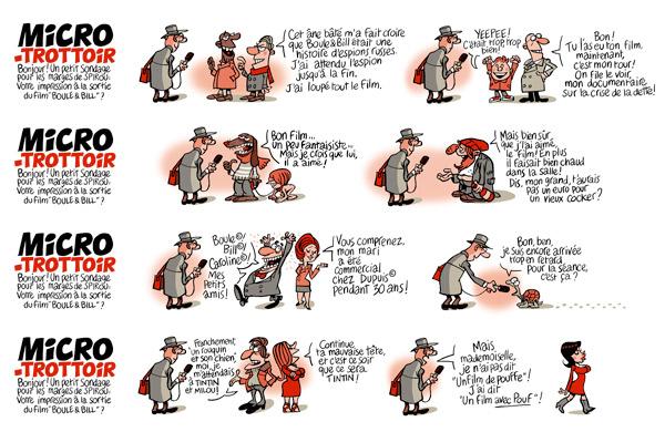 Les dessins de marges du spécial Boule et Bill
