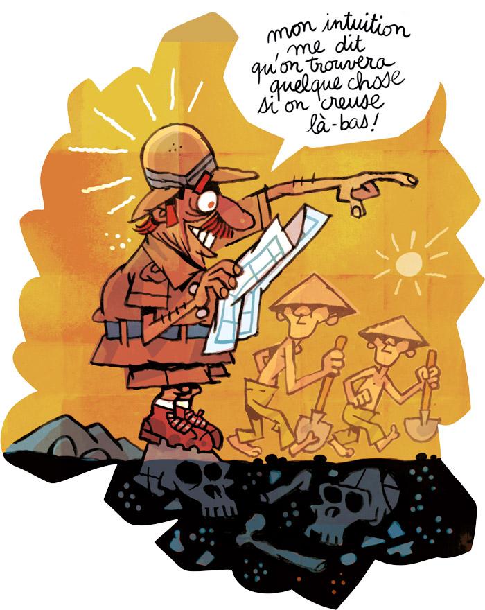 Illustration sur la préhistoire