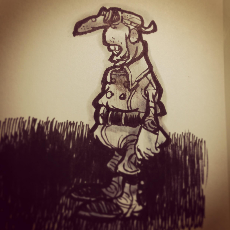 Sketch sur Post-it