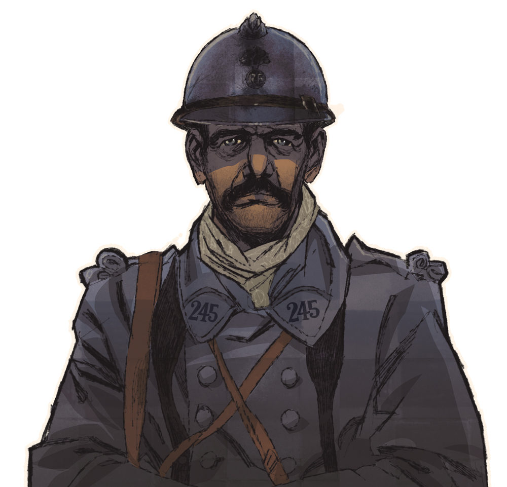 Soldat, 1916